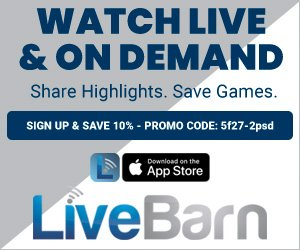 LiveBarn promotion digital poster - savings promo code