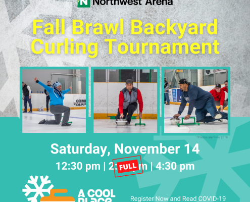 Fall Brawl Curling Tournament Poster Time Update