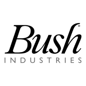 Bush Industries Logo - Black