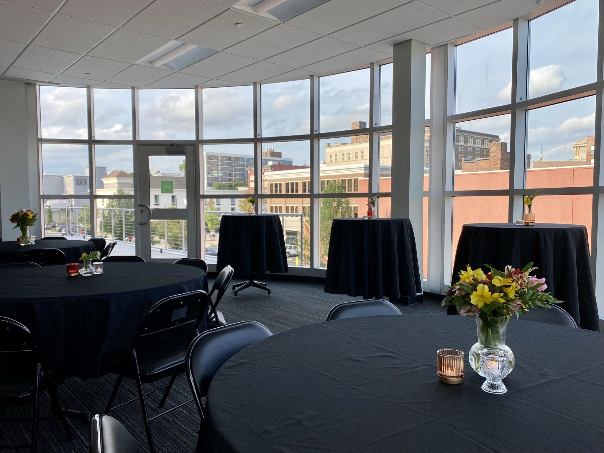 Atrium Boardroom & Rooftop Patio